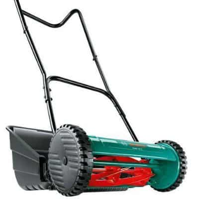 Our Top Pick Bosch AHM 38 G Manual push mower review