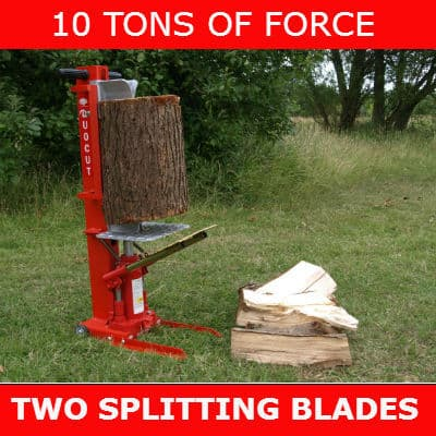 Forest Master 10t Smart Manual Hydraulic Duocut Log Splitter review