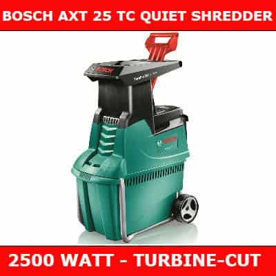 Bosch AXT 25tc shredder REVIEW