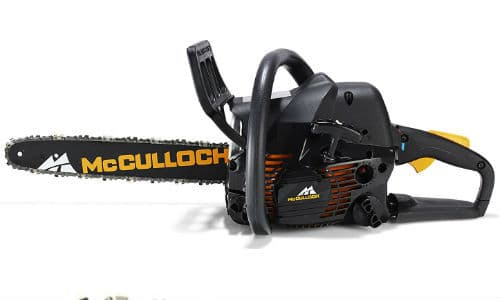 McCulloch CS 360T Petrol Chainsaw Review - Best budget petrol chainsaw