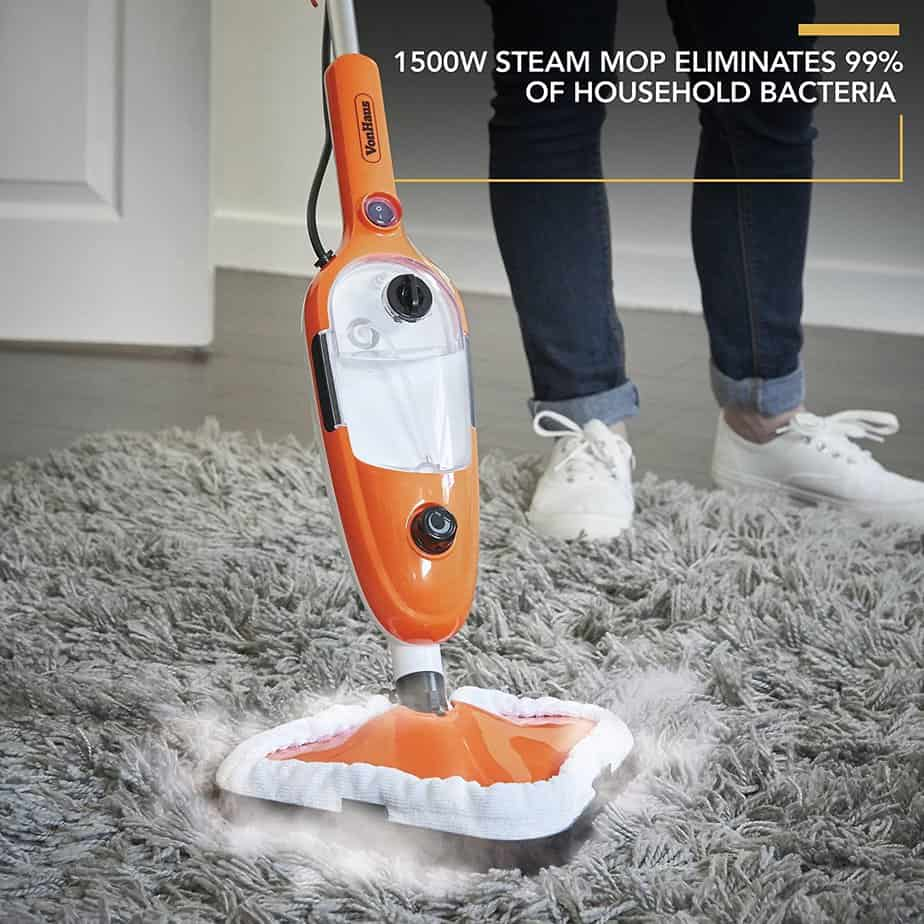 VonHaus Multifunctional Steam Cleaner Mop on carpet