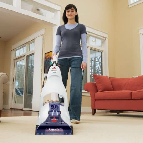 best home carpet cleaner  - BISSELL Cleanview Power Brush Carpet Cleaner review
