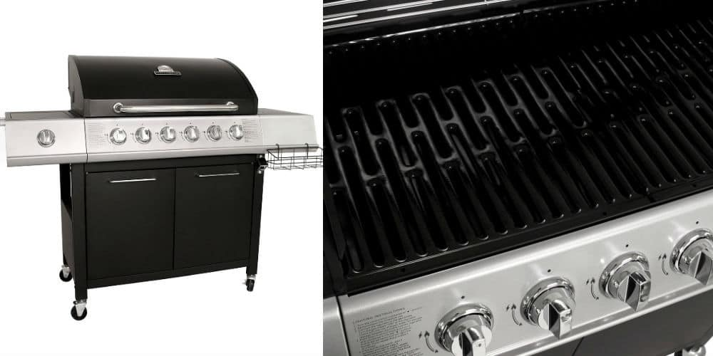Charles Bentley 7 Burner Premium Gas Bbq Steel Barbecue review