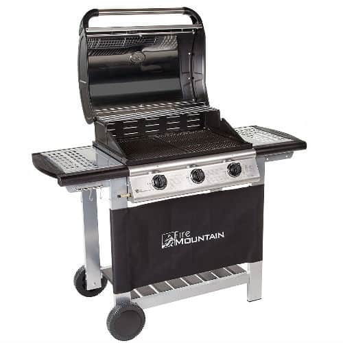 BEST GAS BBQ - Fire Mountain Everest 3 Burner Gas Barbecue review