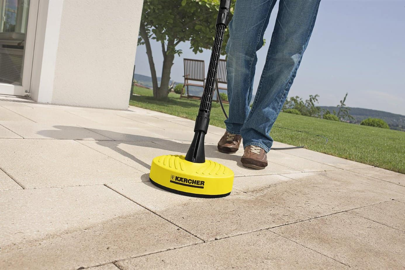 Kärcher K2 Premium Pressure Washer patio cleaner