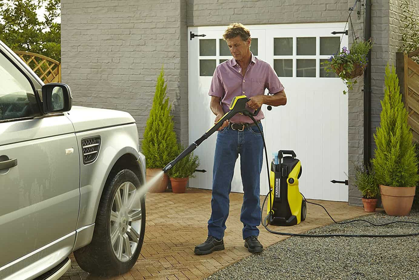 BEST OF THE BEST - Karcher K7 Pressure Washer cleaning cars