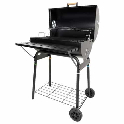 Azuma Black Steel Barrel BBQ Barbeque Charcoal Grill review
