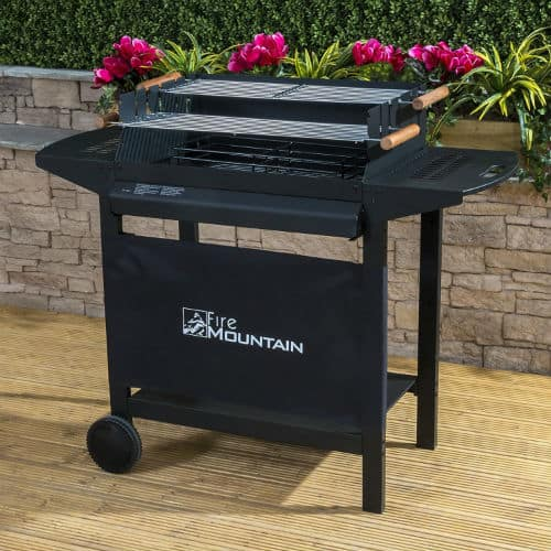 Fire Mountain Deluxe Charcoal Barbecue Review