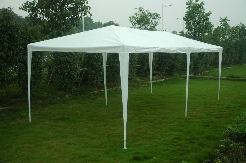 FoxHunter Waterproof 3m x 6m Gazebo side up
