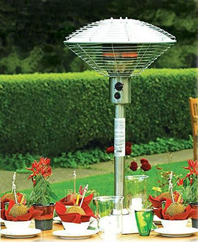 Sahara Stainless Steel Table Top Patio Heater Review