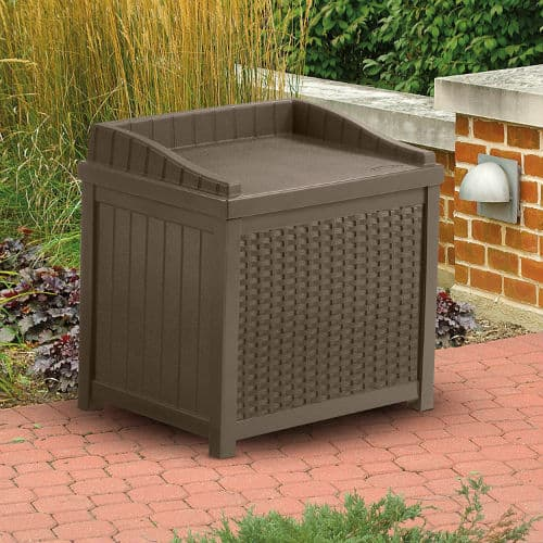 Suncast SSW1200 Premium Garden Storage Seat Box Review