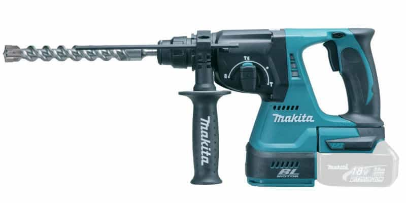 Makita DHR242Z 18 V 24 mm Cordless Li-ion SDS Plus Rotary Hammer Drill Review