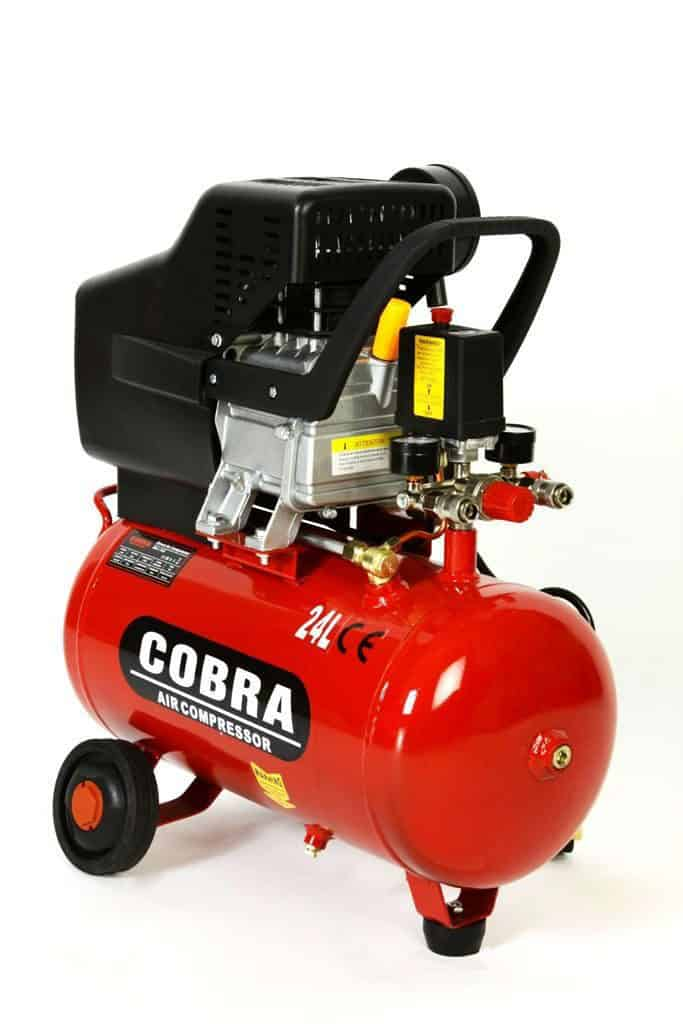 COBRA AIR TOOLS 25L LITER AIR COMPRESSOR WITH FREE 5 PCS KIT
