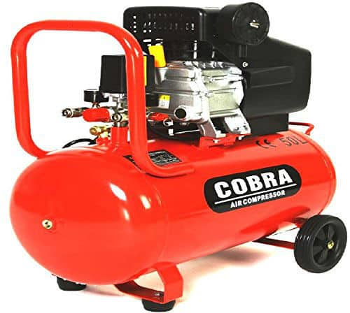 COBRA AIR TOOLS 50L 115psi AIR COMPRESSOR Review