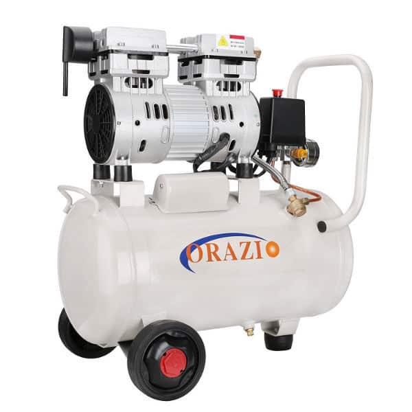 Orazi Low Noise Silent 24L Air Compressor Review