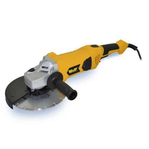 Wolf 9inch Industrial Angle Grinder Review