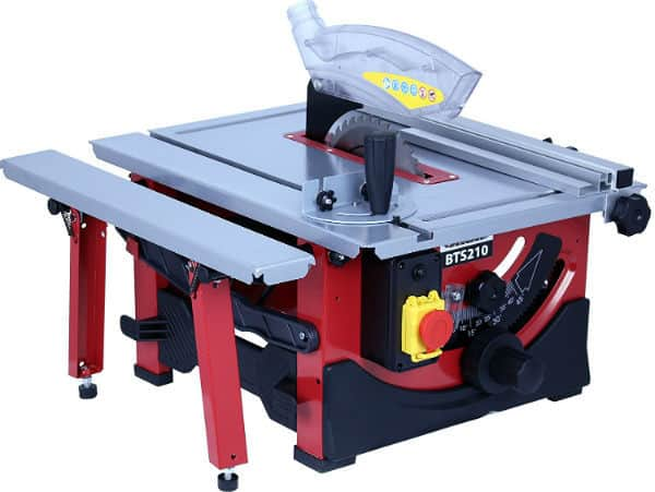 Lumberjack BTS210 8inch Bench Top Table Saw