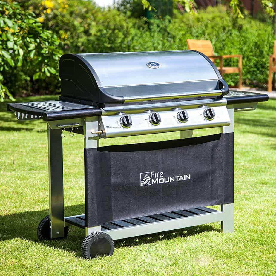 Everest 4 Burner Gas Barbecue Review