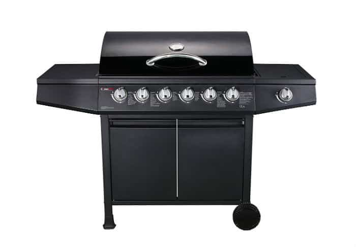 Fire Plus - CosmoGrill 6+1 Gas Burn Grill BBQ Barbecue Review