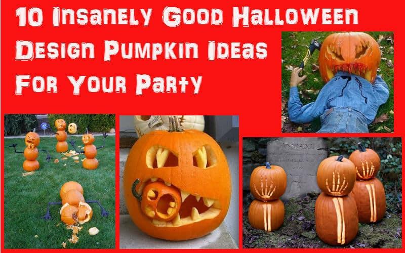 10 Halloween pumkin ideas