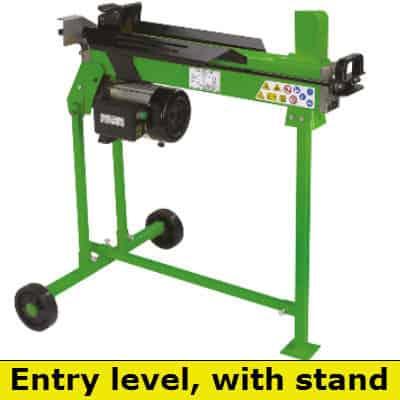 The handy 6 ton electric log splitter