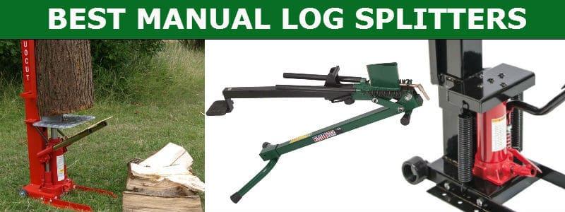 Best manual log splitters reviewed