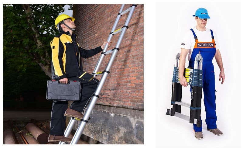 Best Telescopic Ladder Review - Top 5 Models - A frame and telescopic to 5.6 meters