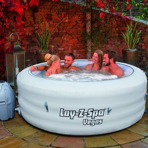 Lay-Z-Spa Vegas Inflatable Portable Hot Tub 4-6 people