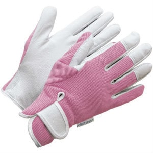 Ladies Leather Gardening Gloves by Viridescent