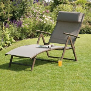 Transcontinental Group Havana Mocha Steel Sunlounger Review
