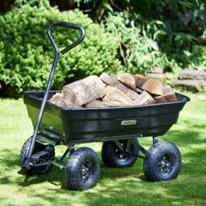 VonHaus 75L Garden Tipping Cart Review
