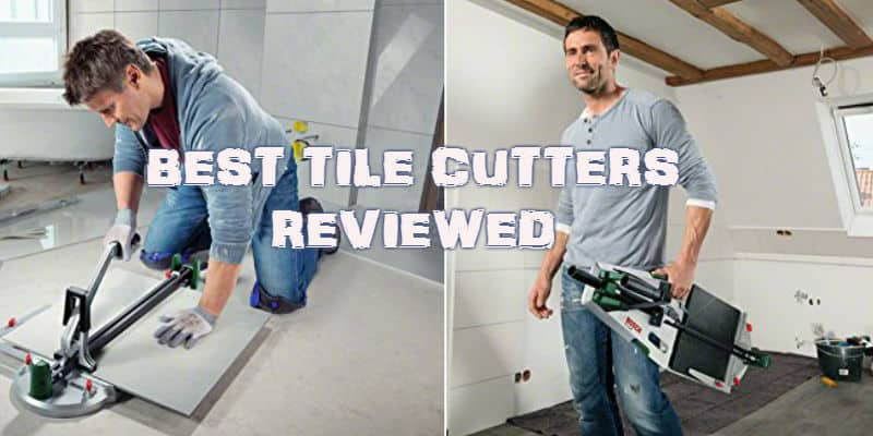 Best Tile Cutter Reviews - We compare 8 of the best models both electric and manual.