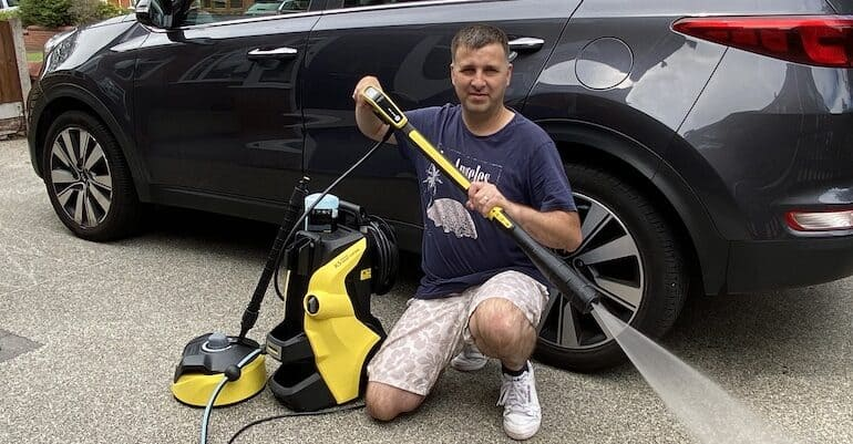 The Karcher k5 Model is the winner of our 'Best Karcher Pressure Washer' but we compared two different K5 models. Read our Karcher K5 Review now to learn why.