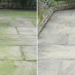 Best Patio Cleaner Reviews - 5 greats products for removing moss. algae and stains without a pressure washer