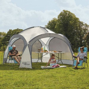 Clifford James 12ft x 12ft Waterproof Shelter Review - great for taking camping or using in the garden
