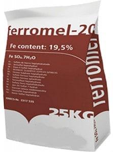 Ferromel 20 Iron Sulphate 25KG PREMIUM Lawn Moss Killer