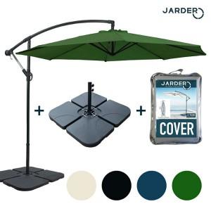 Jarder Parasol Set - 3m Cantilever Garden Parasol Review