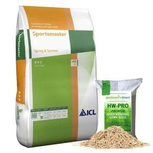 Sportsmaster 25kg SPRING AND SUMMER PROFESSIONAL LAWN TREATMENT FEED GRASS FERTILISER Review