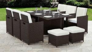 Bella Life Seater 10 Rattan Cube Garden Furniture Set Review