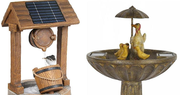 Top 6 solar powered water features for small gardens reviews
