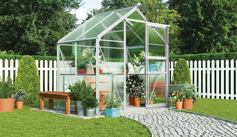 Best Greenhouse Reviews -Buyers Guide and our Top 6 Picks including wood and steel greenhouses