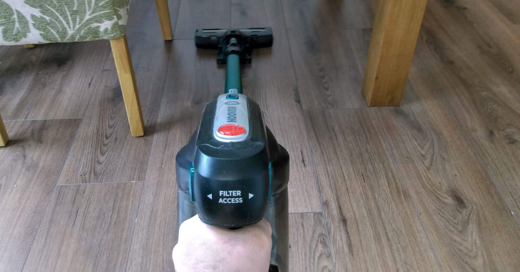 We recently had the change to test one of Hoovers latest offering in the cordless stick vacuum market. Read our Hoover HF18CPT Cordless Stick Vacuum Review now after 4 weeks of testing.