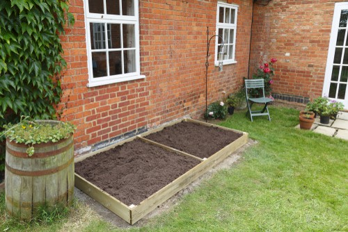 If you have a high water table you can choose to simply plant a bog garden and there are plenty of plants
