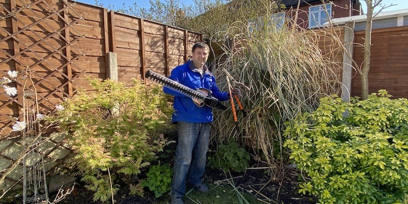 How to prune pampas grass