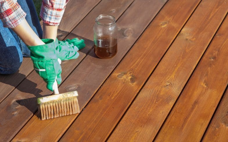 How to apply decking oil to keep your decking in tip-top condition