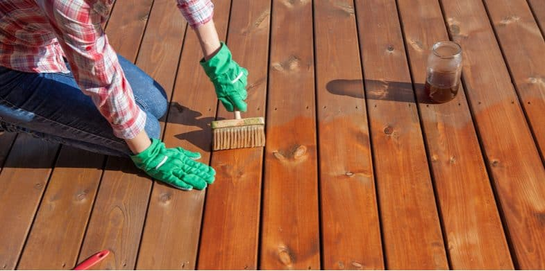 How to treat wooden decking to keep it looking like new