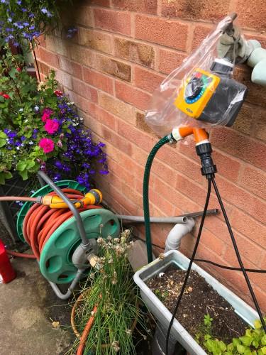 Outside gardening tap