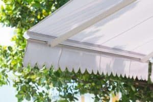 Garden awning fabric types