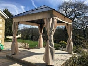 Carreon 3m x 3m Polycarbonate Gazebo