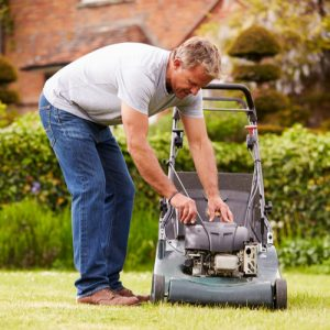Lawn mower for gardeners